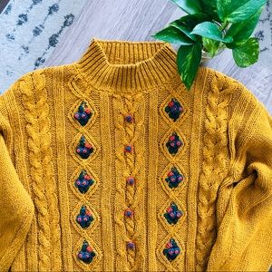 VTG Carolina Colours sweater